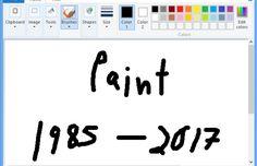 Paint ne figurera pas dans la prochaine mise à jour de Windows 10 prévue cette année.