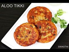 Aloo tikki recipe - These crisp delicious aloo tikki can be served as a snack with some mint chutney and masala chai. You can also serve with chaat topping Aloo Recipes, Veg Recipes, Indian Food Recipes, Vegetarian Recipes, Snack Recipes, Cooking Recipes, Easy Recipes, Potato Snacks, Tea Snacks