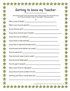 My Favorite Things List Template  My Favorite Things Name Nikki