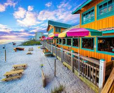 With impossibly fresh food and a laid-back vibe, here are the best spots for seafood in the Florida Panhandle. Destin Florida Vacation, Visit Florida, Destin Beach, Florida Travel, Florida Beaches, Beach Trip, Miami Florida, Pensacola Beach, Mexico Vacation