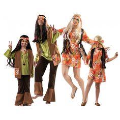 Grupo Hippies Marrones #disfraces #carnaval #disfracesparagrupos