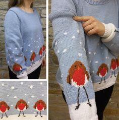 REINDEER JUMPER knitting pattern 2373 Sirdar WASH /'N/' WEAR CREPE DK 2-13 yr