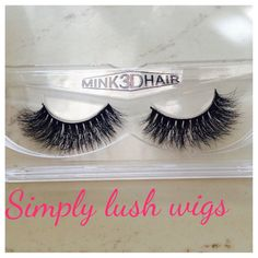 New!+A+set+of+durable,+human+100%+real+mink+lashes+for+all+eye+styles+that+accentuate+makeup+and+can+be+worn+up+to+15+times