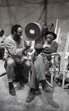 Behind the scenes on Indiana Jones, John Rhys-Davies and Harrison Ford