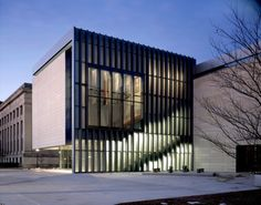 University of Michigan Museum of Art / Allied Works Architecture with Integrated Design Solutions (Click image for more). Image © Jeremy Bittermann