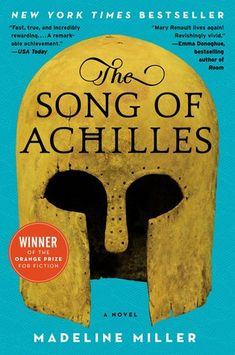 The Song of Achilles by Madeline Miller. Built on the groundwork of the Iliad , Madeline Miller's page-turning, profoundly moving, and blisteringly paced retelling of the epic Trojan War marks the launch of a dazzling career. Emma Donoghue, Good Books, Books To Read, My Books, Amazing Books, Library Books, Will Turner, This Is A Book, The Book