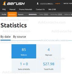 screenshot of semrush high paying affiliate commission