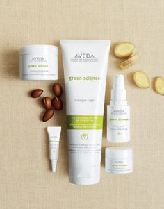 Mother's Day #green gift idea #5: Pamper her. With certified organic argon oil, Aveda's Green Science line provides natural and healthy care for your mom's skin.
