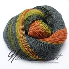Gradient yarn for knitting and crochet. Hand dyed yarn in UK by Natali Stewart. Unique amazing colors will make FO to stand out. Worldwide shipping.