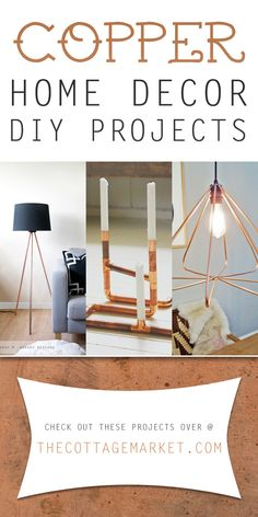 Copper Home Decor DIY Projects - The Cottage Market