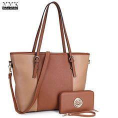 MMK Collection Fashion Handbag Packlock Handbag for Women Signature fashion Designer Purse Perfect Women Satchel * See this great product. (This is an affiliate link) Tan Leather Handbags, Leather Bags, Rebecca Minkoff Handbags, Popular Handbags, Satchel Purse, Satchel Handbags, Shoulder Handbags, Shoulder Bag, Fashion Handbags