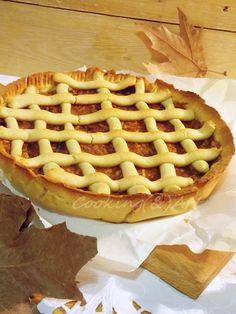 Τάρτα μήλου με σταφίδες / Cooking(&)Art Apple Strudel, Baked Apples, Arugula, Greek Recipes, Raisin, Tart, Waffles, Sweets, Chocolate