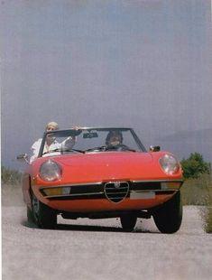 Alfa Spider . Cool.