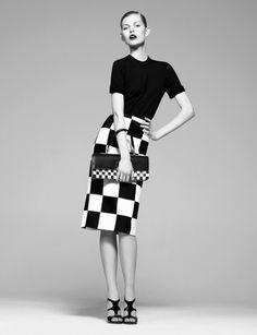 awesome Madame Figaro Japão | Editorial de Moda Março 2013 | Ola Rudnicka por Laurent Humbert
