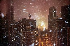 Chicago Pin of the Day Chicago snow from Winter in Town series (Christophe Jacrot). Chicago Snow, Chicago Winter, Chicago City, Christophe Jacrot, Amazing Photography, Art Photography, Anatole France, Sea To Shining Sea, Winter Photos