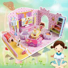 Ucuz Doğrudan Çin Kaynaklarında Satın Alın: moda güzel erkek kız 3d bulmaca çocuk çocuk mozaik oyuncaklar diy oyuncak