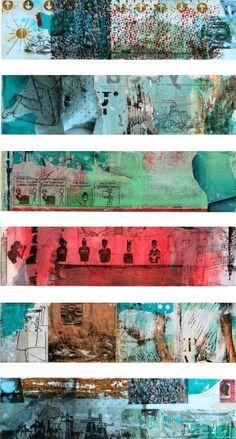 SPRING ON MY MIND, schilderij van Db Waterman .. Kunst / Abstract / Modern / Schilderij
