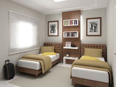 Modern Kids Bedroom, Bedroom Decor For Teen Girls, Small Master Bedroom, Cute Bedroom Ideas, Upstairs Bedroom, Guest Bedrooms, Bedroom Sets, Bedroom Decorating Tips, Hotel Room Design