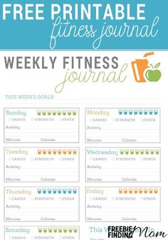 Are you trying to shed those pesky pounds and get in better shape? Then working out needs to be a part of your health regimen. Download this Free Printable Fitness Journal to keep you on track and accountable as you reach your goals.