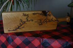 Red Oak Cutting Board by FrillsElectricWood on Etsy