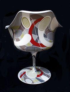 Tulip Armchair Saarinen back http://www.schiepan.com