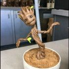 DISNEYLAND CALIFORNIA GUARDIANS OF THE GALAXY BABY GROOT SIPPER CUP