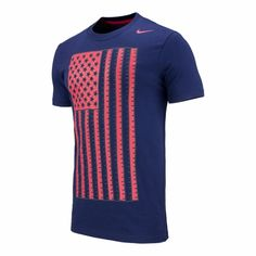 Nike USA Core Plus Tee - Obsidian - Click to enlarge