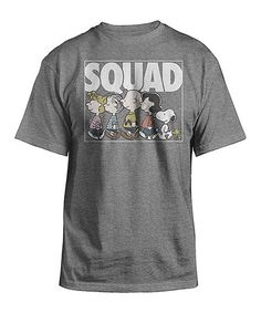 Another great find on #zulily! Peanuts 'Squad' Tee - Men's Regular #zulilyfinds