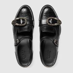 Gucci Hombre - Zapatos de Hombre - Zapatos con Cordones De hombre. Compra  ahora Zapato monk con perforaciones Queercore ... 625dc777b4d