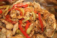 Совсем необычная курица, жареная с овощами — объедение!