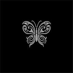 #HotFix Diamante Butterflies Transfers iron on motif for #tshirt bags