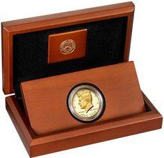 """Online veilinghuis Catawiki: Verenigde Staten - ½ Dollar Kennedy 2014 """"50th Anniversary Issue"""" goud"""