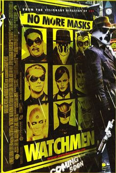 No more masks - Watchmen