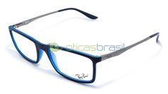 Desde o icônico Aviador, a marca Ray-Ban é referência no mercado de óculos, seus modelos ditam tendência e são sempre a escolha de quem não quer errar no visual. Usar óculos de grau não é motivo para abrir mão de todo o estilo da Ray-Ban, compre já sua armação Ray-Ban RB 7026L!  http://www.oticasbrasil.com.br/ray-ban-rb-7026l-8001-oculos-de-grau