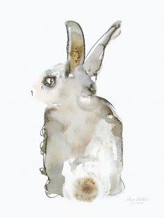 Påskeharen Harefrøken, 50 x 70 cm, 1090 kr, Elise Stalder Baby Artwork, Kids Artwork, Watercolor Texture, Watercolor Print, Baby Decor, Kids Decor, Number Art, Modern Wall Art, Nursery Prints