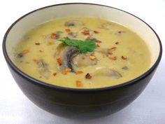 My Own Sweet Thyme: Mushroom Coconut Soup