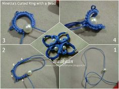muskaan's T*I*P*S: Curled Ring final options and a free pattern