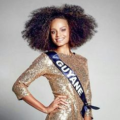 Miss France 2017. A natural girl!