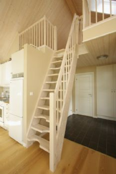 Space Saving Staircase For A Tight Space