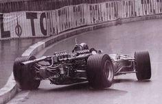 Jean Pierre Beltoise, Monaco 1968. Matra MS11