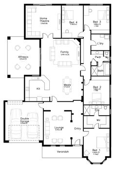 St Morris - Dechellis Homes Cottage House Plans, Dream House Plans, Small House Plans, Cottage Homes, House Floor Plans, Dream Home Design, House Design, Cattle Farming, Barn Conversions