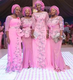 The very best of Aso Ebi fashion styles to rock to a wedding event that make you stand out from the rest. African Attire, African Wear, African Dress, African Clothes, African Style, Ethnic Fashion, African Fashion, Aso Ebi Styles, Ankara Styles