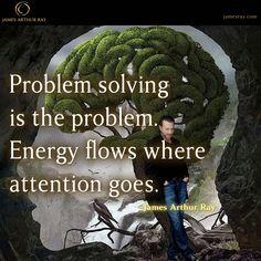 Problem Solving is the Problem #Blog #Turnaround #Productivity #LIVEBIG #Motivation http://jamesray.com/problem-solving-problem-james-arthur-ray/
