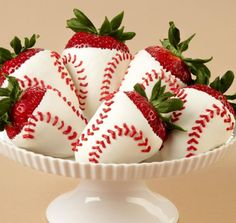 Cute baseball strawberries