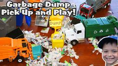 Garbage Truck Videos For Children l Play Garbage Man and Pick Up Trash l...