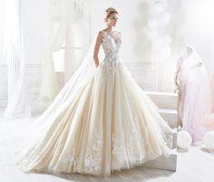 Moda sposa 2018 - Collezione NICOLE.  NIAB18093. Abito da sposa Nicole.