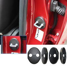 Car Door Lock Cover For Chevrolet Sail Epica Lova Spark Chery A3 Tiggo E5 Ssangyong Rexton Korando For Buick Excelle Car Styling #Affiliate