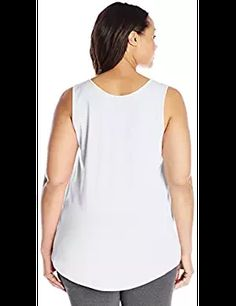 419eb5284 Just My Size Just My Size Women s Shirt-Tail Tank Top from  4.07 Just My