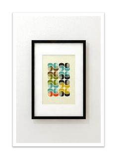 EXPO 1  Giclee Print  Mid Century Modern Danish Modern by Thedor, $24.00