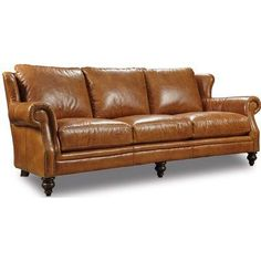 Leather sofa that delivers class and sophistication. The clean lines of the sofa are a great contrast to the supple leather feel and soft fill. Ultra comfort while firm enough to keep its shape and posture. Great choice for reception areas, offices or living rooms. This item is imported direct and sold directly to their customers which makes this luxury item very affordable.